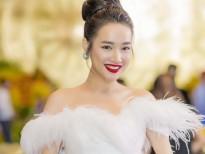 nha phuong dien dam trang cong chua tham du vtv awards sac mau 2018