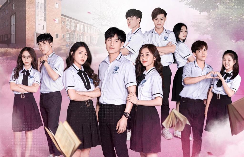 la la school ra mat web drama moi mang ten friendzone yeu co ban than