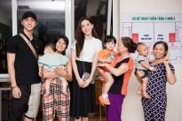 Diễn viên Bình An và Á hậu Phương Nga cùng nhau tổ chức trung thu cho trẻ em