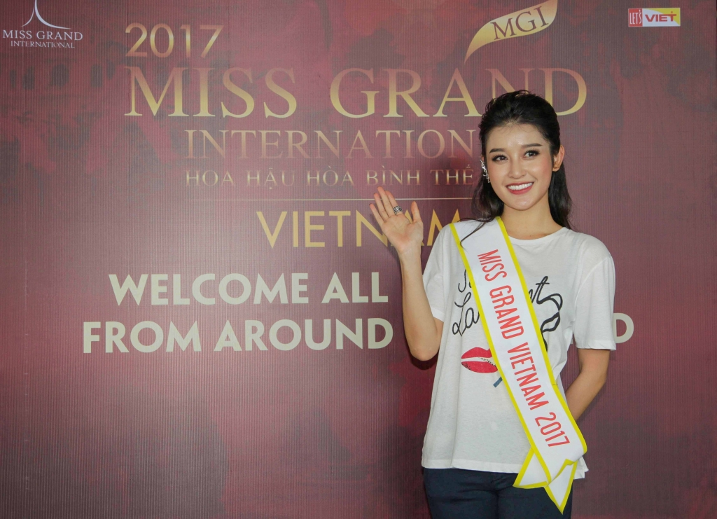 miss grand international 2017 huyen my xuat hien day tu tin va rang ro