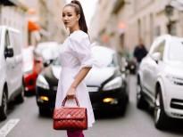 maya ca tinh voi phong cach street style tren duong pho paris