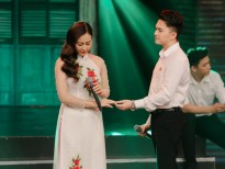 Nam Cường tình tứ, da diết với Hà Thúy Anh trên sân khấu 'Thay lời muốn nói'
