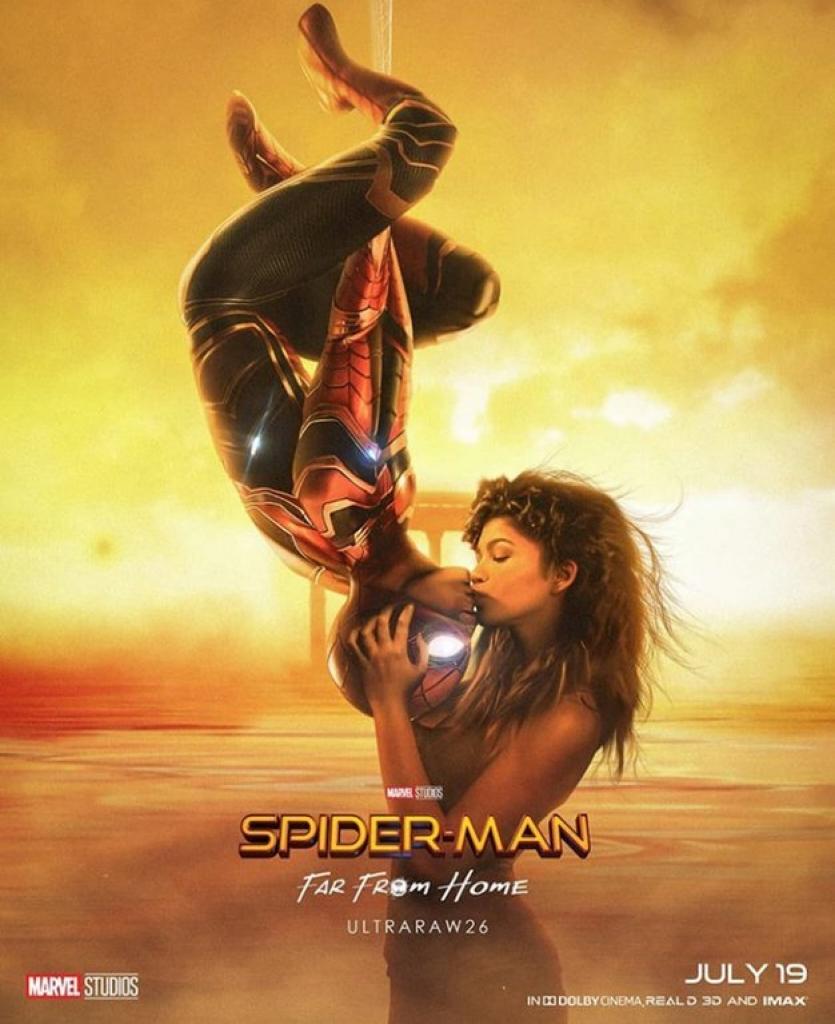 tom holland gioi thieu trang phuc nguoi nhen moi trong spider man far from home