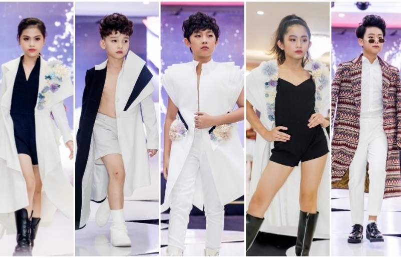 vietnam kids fashion tour bung no voi show dien dau tien