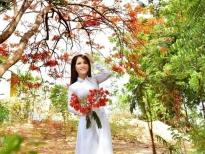 Thái Ngọc Thanh thướt tha với áo dài trắng trình làng MV 'Phượng khóc'