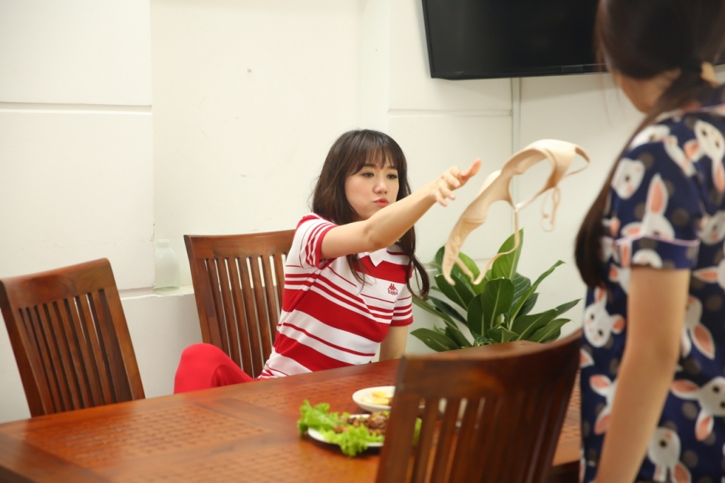 choang truoc tao hinh moi cua hari won trong web drama tu dau tu san xuat
