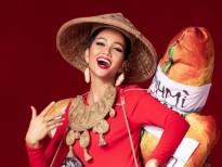 'Bánh mì' chính thức trở thành trang phục dân tộc của H'Hen Niê tại 'Miss Universe 2018'