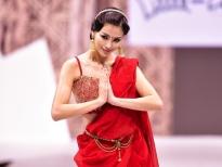 phuong khanh lam vedette trinh dien bst trang phuc an do tai asian kids fashion week 2020