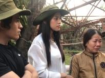 Hoa hậu Tiểu Vy chung tay cùng Quốc Thiên cứu trợ miền Trung sau cơn bão số 9