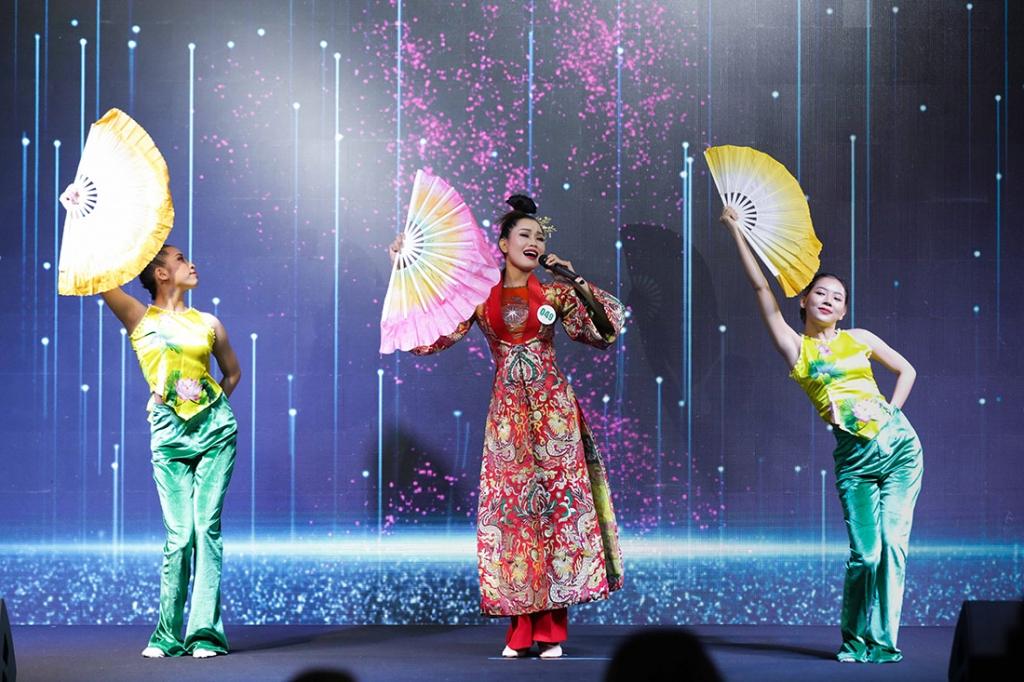 soi dong phan thi tai nang miss tourism vietnam 2020