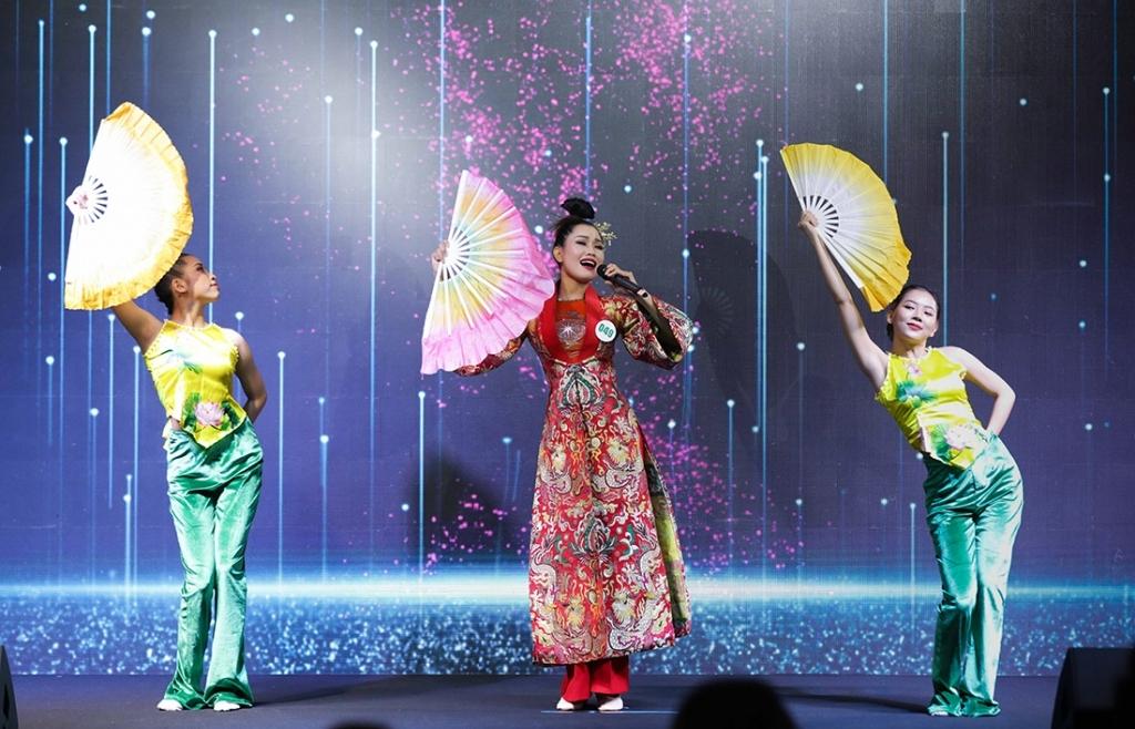 Sôi động phần thi Tài năng 'Miss Tourism Vietnam 2020'