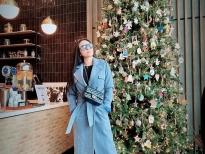 Ngọc Ánh Kim phối áo khoác sắc màu 'sang chảnh' cho mùa đông không lạnh