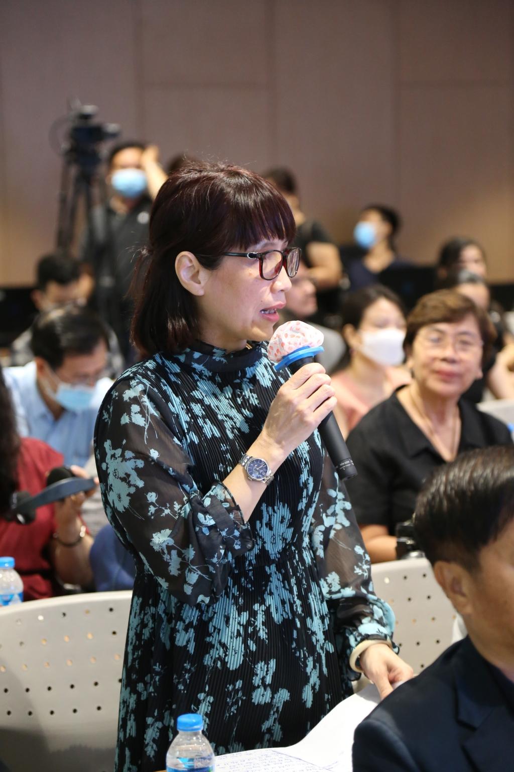 Bà Lý Phương Dung – Cục Phó Cục điện ảnh