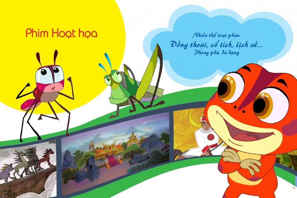 'Tuần phim hoạt hình Việt trên VTVGo': Cả gia đình dắt nhau về tuổi thơ trong trẻo