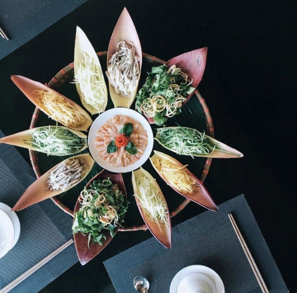 Những món ăn được chụp trên instagram của Quang Vinh trông đầy nghệ thuật.