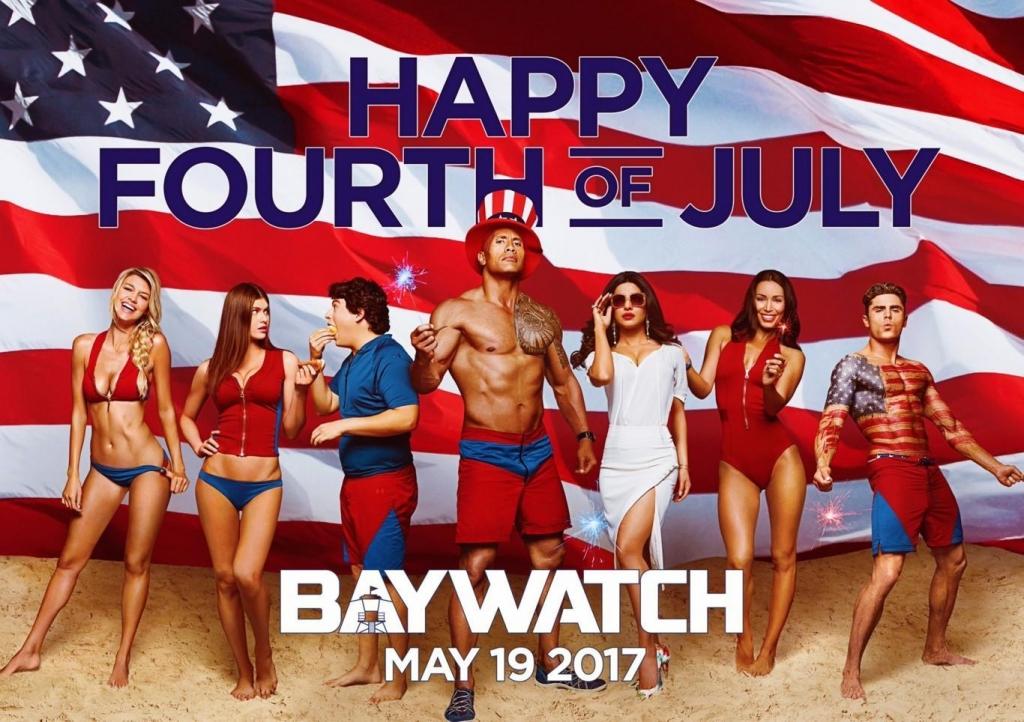 baywatch bong mat voi nhung co nang mac bikini
