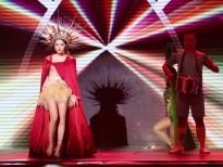 """Hương Giang Idol hóa """"nữ thần mặt trời"""" chiến thắng trong đêm nhạc Latin 'Remix New Generation'"""