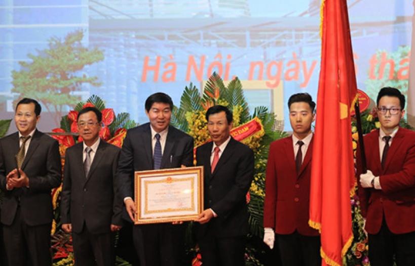 Trung tâm Chiếu phim Quốc gia đón nhận Huân chương Lao động hạng Nhất