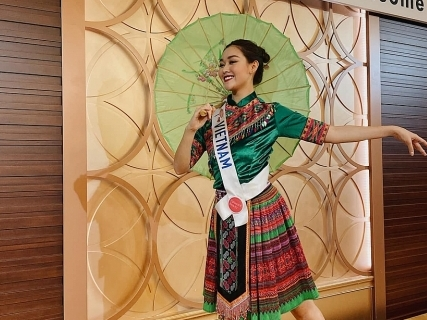 tuong san mac do dan toc nhay de mi noi cho ma nghe tai miss international