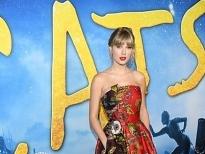 Taylor Swift đẹp rạng ngời trong buổi công chiếu siêu phẩm âm nhạc 'Cats - Những chú mèo'