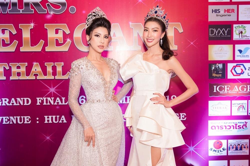loan vuong lam giam khao cuoc thi mrs elegant thailand 2019
