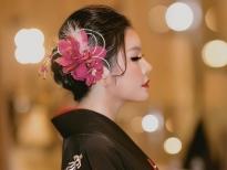 ly nha ky mac kimono lam vedette trong show cua nha thiet ke nhat ban