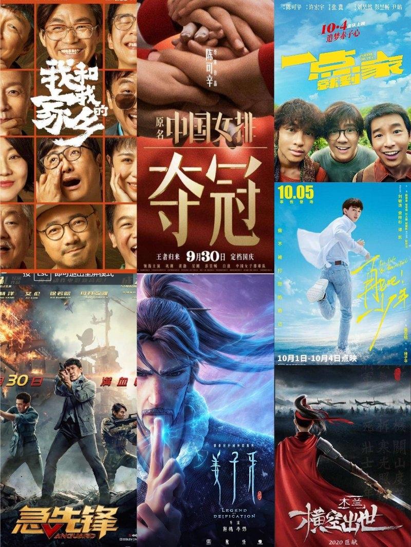 1. Chỉ trong vòng mấy tháng cuối năm, điện ảnh Hoa ngữ đã thực hiện cú lội ngược dòng thành công vang dội sau dịch Covid-19