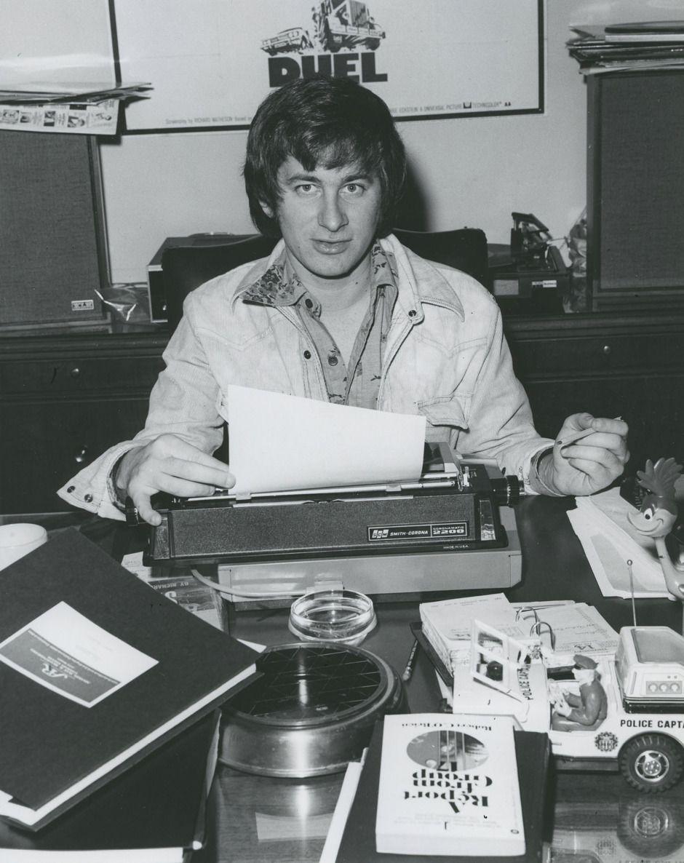 Đạo diễn Steven Spielberg thời trẻ