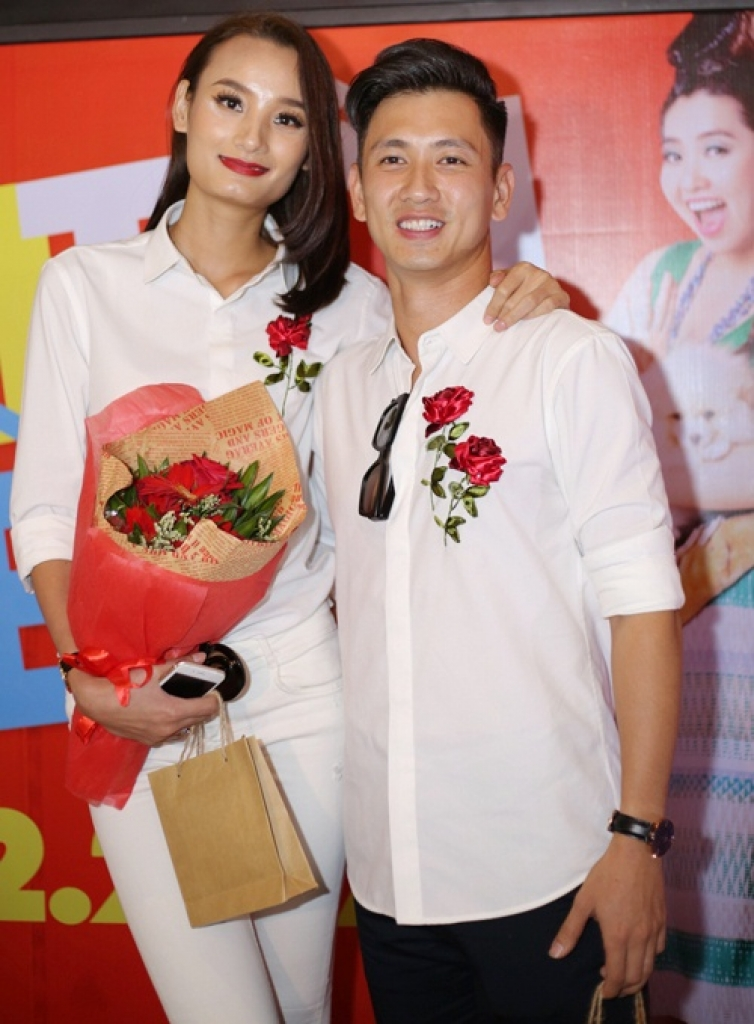 do an muon le thuy la nguoi vo hanh phuc nhat trong ngay valentine