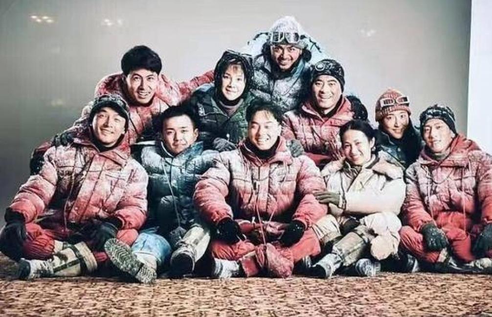Bộ phim 'Người leo núi' của Ngô Kinh lần đầu tiên công bố hình ảnh