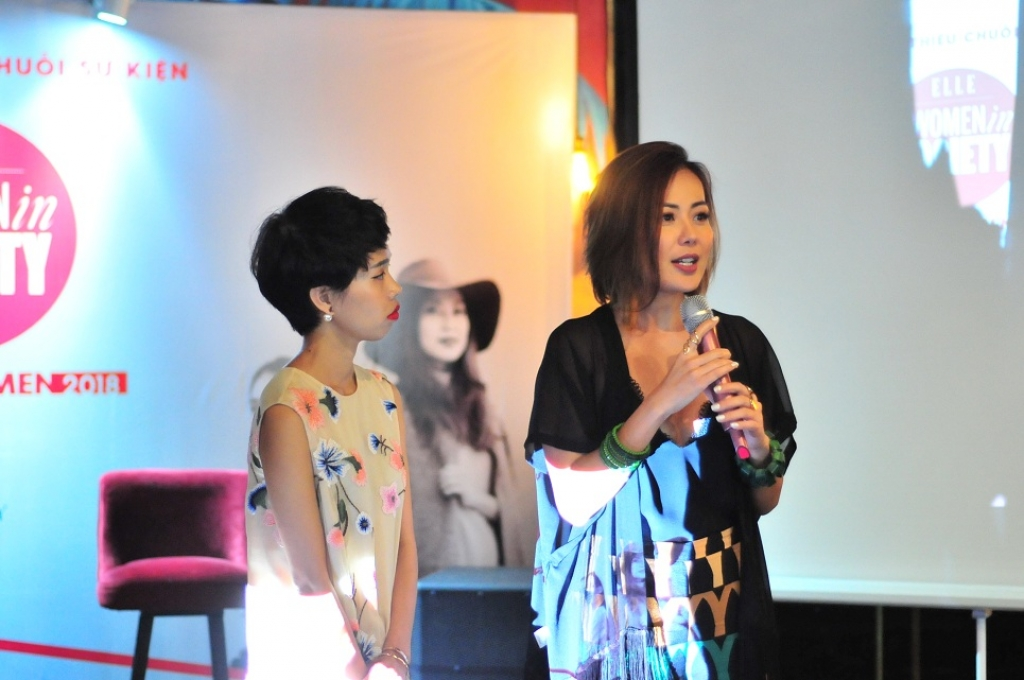 elle women in society talkshow bo ich cho phu nu chinh thuc den viet nam