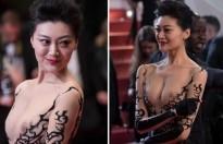 LHP Cannes kết thúc, sao Hoa ngữ Triệu Hân, Lý Ngọc Cương lùm xùm nhất