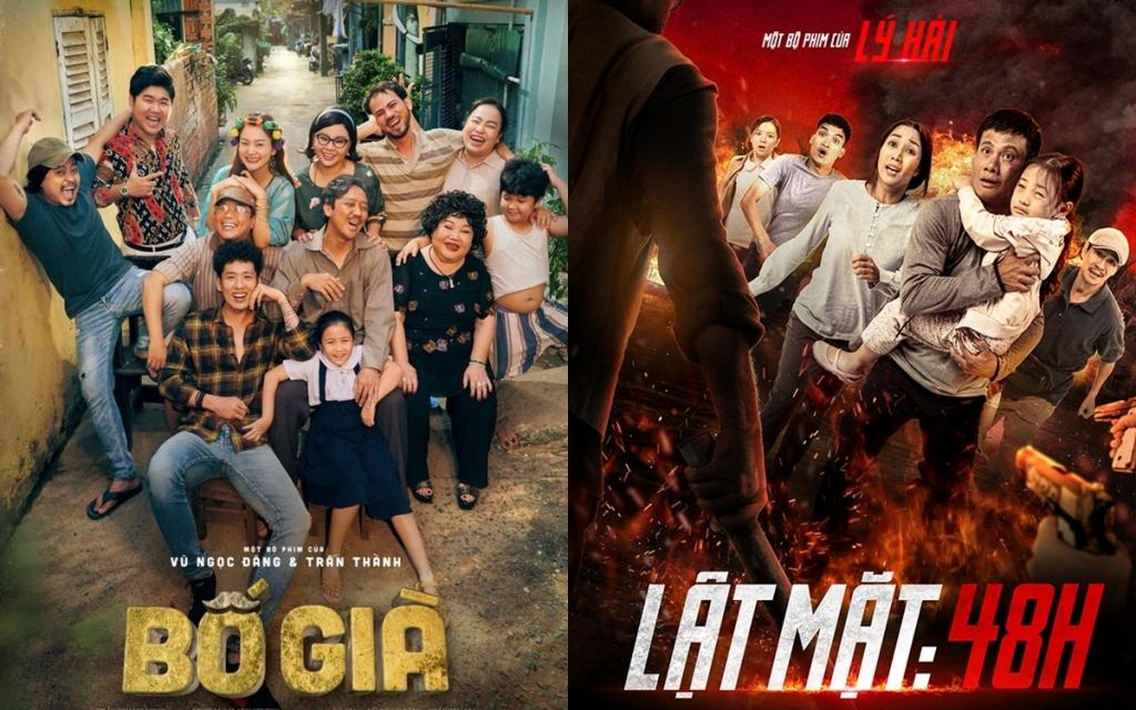 Những thành công gần đây của Bố già và Lật mặt 48h là tín hiệu tích cực cho thị trường phim Việt