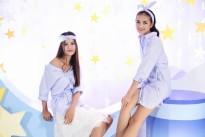 cuoc hoi ngo bat ngo giua hai nang vietnams next top model huong ly ngoc chau