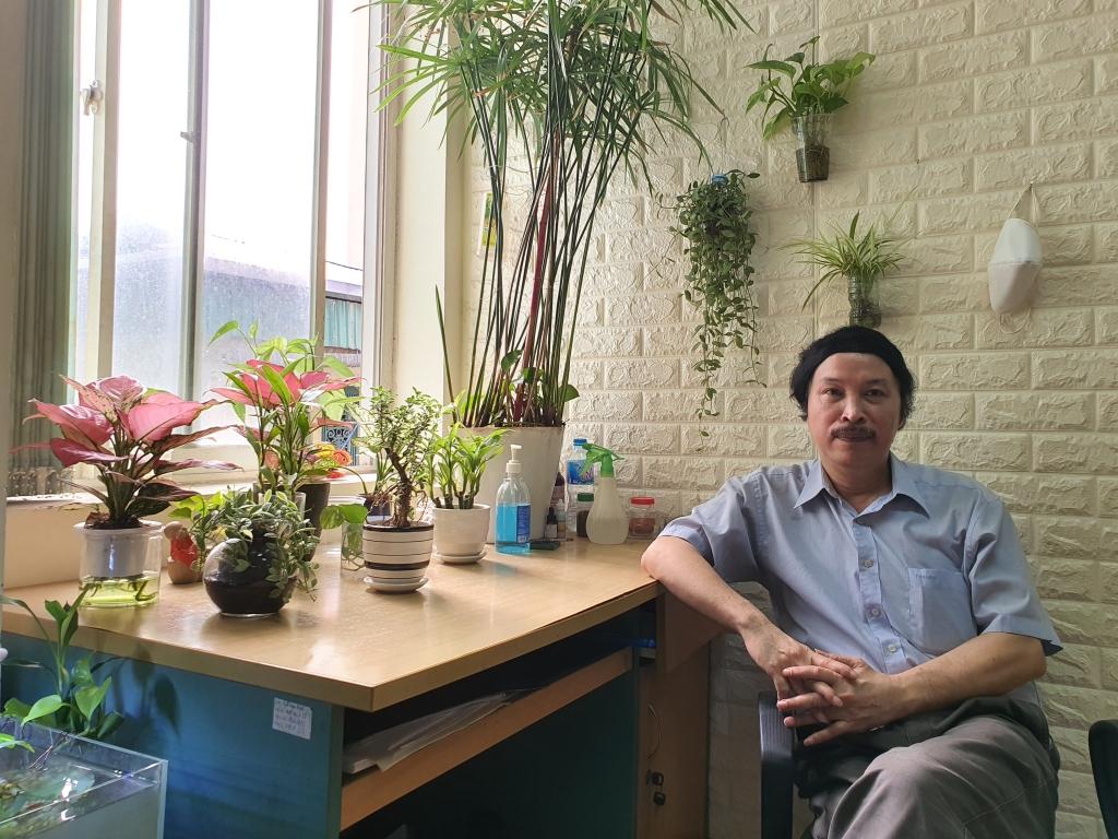 NSND Phạm Ngọc Tuấn - Tổng giám đốc công ty Cổ phần Hãng phim hoạt hình Việt Nam