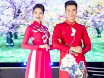 quan quan nguyen manh kien va ton tuyen khoe ao dai don tet