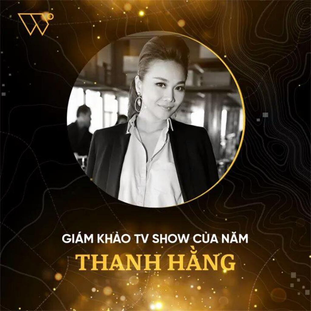 thanh hang nhan giai thuong giam khao tv show cua nam