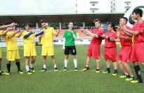 Ca sĩ Trịnh Tuấn Vỹ giành chiến thắng trước cựu thủ môn Tấn Trường