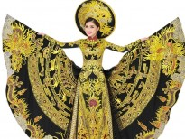 truong thai thuy duong doat giai best national custome tai cuoc thi miss heritage global 2017