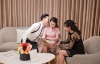 MC Thành Trung đưa vợ đi thử áo cưới