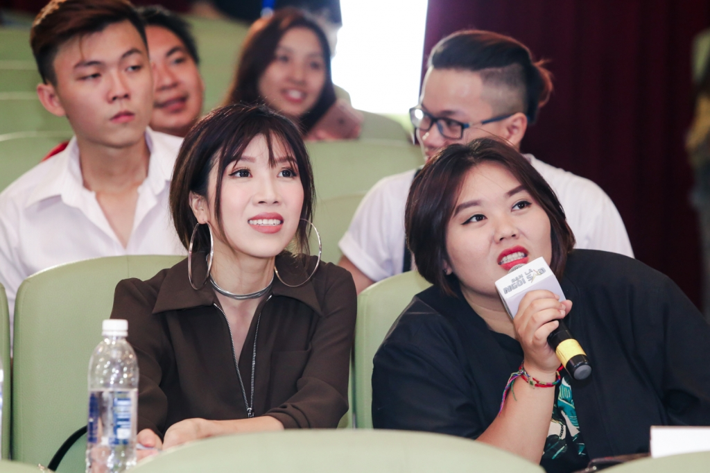 dan sao viet cung lam giam khao vong casting gameshow be a star ban la ngoi sao