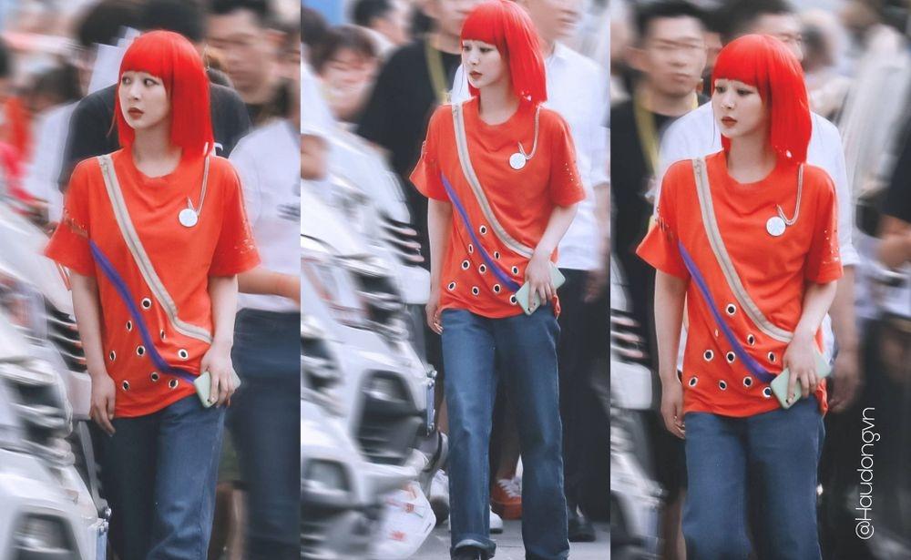 Dương Tử lên hotsearch với tóc nhuộm đỏ chất lừ khiến fan mê như điếu đổ