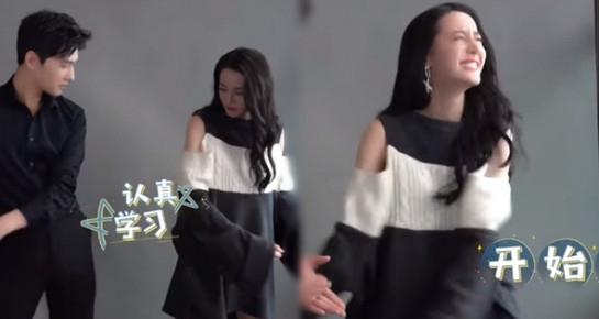 Dương Dương lên trình Tiktok sau khi đóng phim với Triệu Lộ Tư, dạy Địch Lệ Nhiệt Ba 'đu trend' chuyên nghiệp