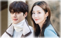 Park Min Young với tạo hình dừ hơn tuổi bên cạnh Song Kang trong 'Cruel Story Of Office Romance'