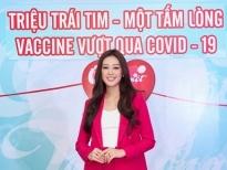 Hoa hậu Khánh Vân chung tay đẩy lùi dịch Covid-19
