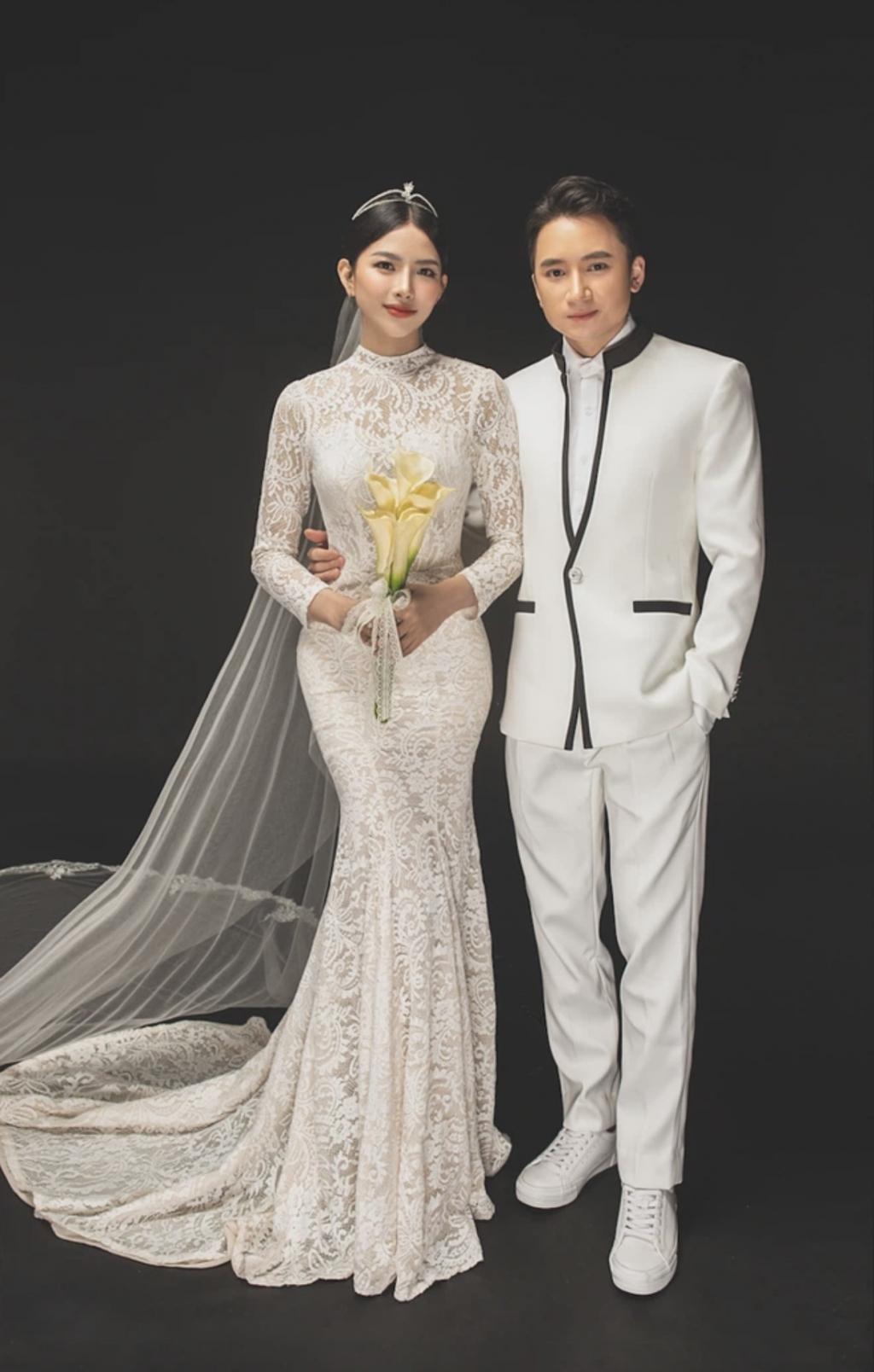 Phạn Mạnh Quỳnh tung trọn bộ ảnh cưới, visual cô dâu chú rể cực đỉnh