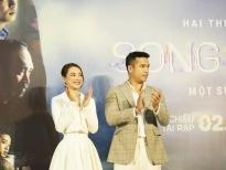 Nhã Phương & Trương Thế Vinh diện đồ 'ton sur ton'' cực hợp rơ tại họp báo ra mắt phim 'Song song'