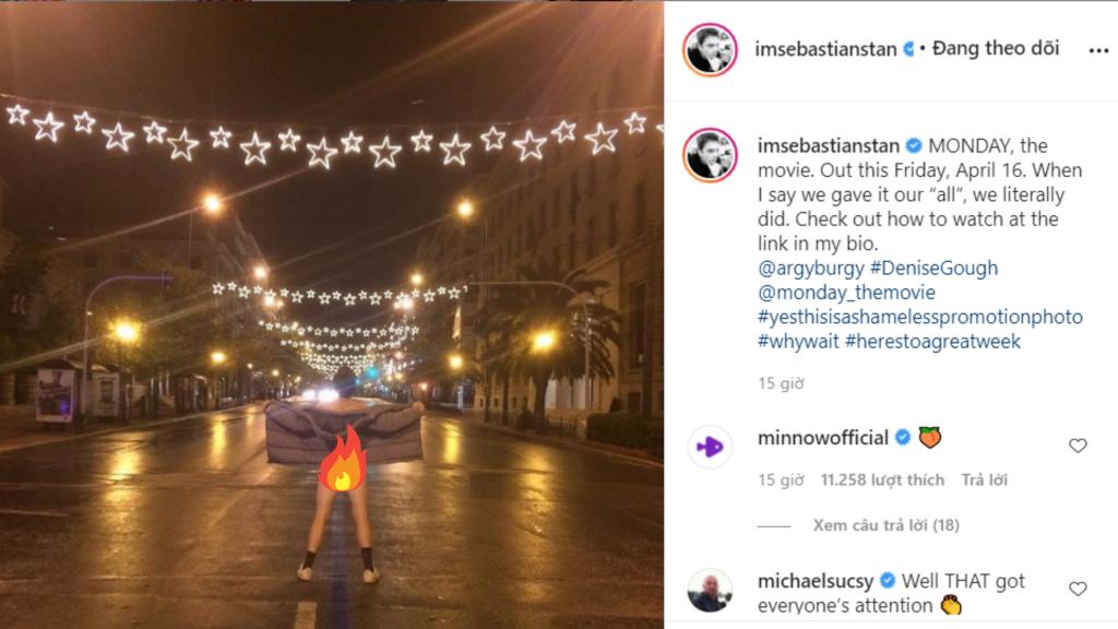 'Chiến binh mùa đông' Sebastian Stan bất ngờ khoe vòng 3 giữa chợ khiến dân tình bỏng mắt, chuyện gì đang xảy ra vậy?