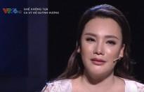 Hồ Quỳnh Hương nói trong nước mắt trên sóng truyền hình