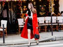 Phong cách của Hoa hậu Lê Ngọc Diệp trên đường phố Paris